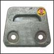 3854130M Volvo Penta SX Outdrive Gimbal Plate Magnesium Anode (3855610)