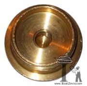 Brass Plug for 823661 Volvo Penta Diesel Engine Zinc Anode