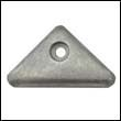 872793 Volvo Penta SX and DP-X Outdrive Triangle Zinc Anode