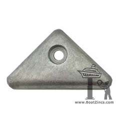 872793 Volvo Penta SX and DPX Outdrive Triangle Zinc Anode