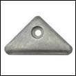 872793A Volvo Penta SX and DP-X Outdrive Triangle Aluminum Anode