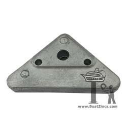 872793M Volvo Penta SX and DPX Outdrive Triangle Magnesium Anode (3861583M)