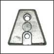 876638 Volvo Penta DP-X Outdrive Trapezoid Zinc Anode
