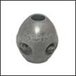 "Martyr X-0 Shaft Zinc Anode - 1/2"" (X00)"