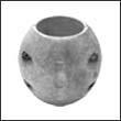 """Martyr X-10 Shaft Aluminum Anode - 2-1/4"""" (X10AL)"""
