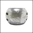 "Camp X-15 Shaft Zinc Anode - 3-1/2"" (X15)"