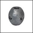 """Camp X-1A Shaft Zinc Anode - 3/4"""" Heavy (X1A)"""