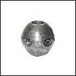 "Martyr X-1AL Shaft Aluminum Anode - 3/4"""