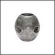 """Martyr X-3 Shaft Aluminum Anode - 1"""" (X3AL)"""