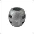 """Reliance X-5H Shaft Zinc Anode - 1-1/4"""" Heavy (X5H)"""