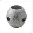 """Martyr X-6 Shaft Aluminum Anode - 1-3/8"""" (X6AL)"""