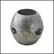 """Martyr X-7 Shaft Aluminum Anode - 1-1/2"""" (X7AL)"""