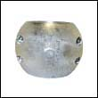 Camp X-80 Shaft Zinc Anode - 80mm (X80)