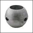 """Martyr X-9 Shaft Aluminum Anode - 2"""" (X9AL)"""