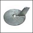 664-45371-01 Yamaha 20-50 HP Outboard Trim Tab Zinc Anode