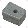 67C-45251-00 Yamaha 25-60 HP Outboard Cube Zinc Anode
