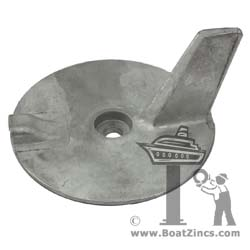 67C-45371-00A Yamaha 25-60 HP Outboard Trim Tab Aluminum Anode
