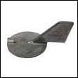 67F-45371-00 Yamaha 50-100 HP Outboard Trim Tab Zinc Anode