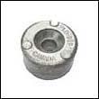 688-45251-01 Yamaha 40-90 HP Outboard Button Zinc Anode