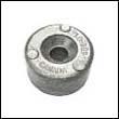 688-45251-01A Yamaha 40-90 HP Outboard Button Aluminum Anode