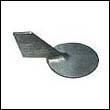 688-45371-02 Yamaha 40-90 HP Outboard Trim Tab Zinc Anode