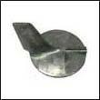 69L-45371-00 Yamaha 200-300 HP Outboard Trim Tab Zinc Anode