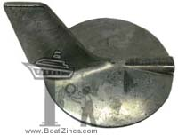 69L-45371-00 Yamaha 200-300 HP Outboard Trim Tab Zinc Anode