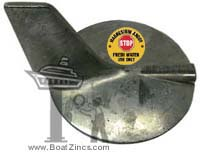 69L-45371-00M Yamaha 200-300 HP Outboard Trim Tab Magnesium Anode