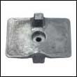 6AH-45251-00 Yamaha Outboard Aluminum Anode