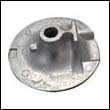 6AW-45619-00 Yamaha Outboard Cover Aluminum Anode