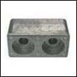 6E5-45251-00 Yamaha 115-200 HP Outboard Bracket Zinc Anode