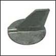 6K1-45371-00 Yamaha 90-200 HP Outboard Trim Tab Zinc Anode (LH)