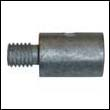 120650-13420 Yanmar Engine Zinc Anode (Zinc Only)