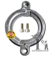 196440-02660M Yanmar Saildrive Split Ring Magnesium Anode