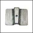 61N-45251-01 Yamaha 8-25 HP Outboard Trim Tab Plate Zinc Anode