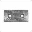 Slotted ZHC-23 Zinc Anode (B-9, B9, ZHC23, ZHC 23)