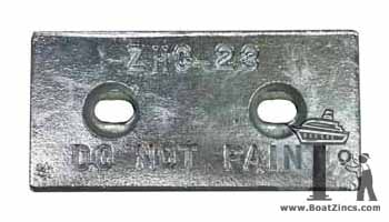 Slotted ZHC-23 Zinc Anode (B-9 )
