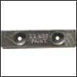 ZSC-12 Hull Zinc Anode