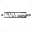 ZSS-12A Weld-On Zinc Anode with Aluminum Strap (Z-3A)
