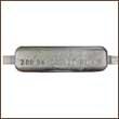 ZSS-24 Weld-On Zinc Anode