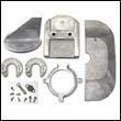Alpha One Gen II Zinc Anode Kit with Fin