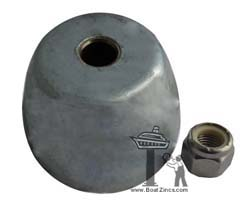 Autostream S1 and S2 Propeller Zinc Anode
