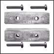 BNT-1AL Bennett Trim Tab Aluminum Anode Kit (Pair)