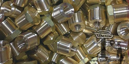 Hex Brass Plugs for Engine Anodes
