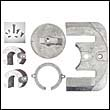 Bravo One Zinc Anode Kit