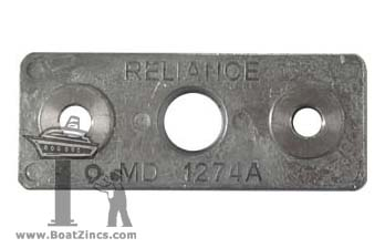 1274A Zinc Anode for Fernstrum® Keel Coolers