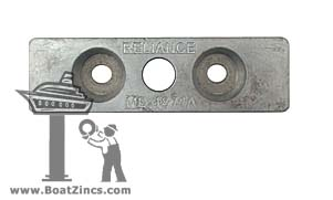 1874A-AL Aluminum Anode for Fernstrum® Keel Coolers (1874DS, AL5007K)