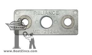 2624A Zinc Anode for Fernstrum® Keel Coolers
