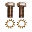 Bronze Mounting Screws for Fernstrum® Keel Cooler Anodes (set)