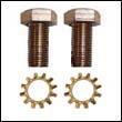 Bronze Mounting Screws for Fernstrum® Keel Cooler Anodes (set)